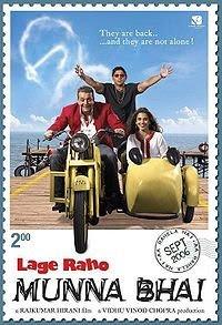 Lage Raho Munna Bhai (2006) starring Sanjay Dutt and Arshad Warsi