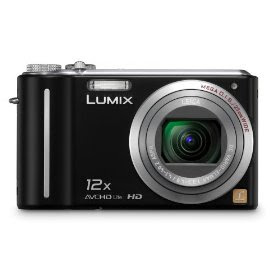 Panasonic Lumix DMC-ZS3 10MP Digital Camera with 12x Wide Angle MEGA Optical Image Stabilized Zoom and 3 inch LCD (Black)