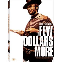For a Few Dollars more, starring Clint Eastwood, Lee Van Cleef, and directed by Sergei Leone, released in 1965