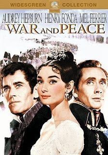 War and Peace (released in 1956) starring Audrey Hepburn, Henry Fonda and Mel Ferrer