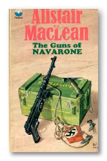Guns of Navarone (Published in 1957) authored by Alistair MacLean, a classic set in the Second World War