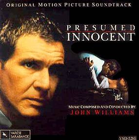 Presumed innocent (released in 1990) - starring Harrison Ford, John Spencer, and Brian Dennehy - a prosecutor charged with murder