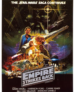 Star Wars – The Empire Strikes back (released in 1980) - directed by Irvin Kershner, and starring Mark Hamill, Harrison Ford, and Carrie Fisher
