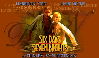Six Days Seven Nights (released in 1998) - Starring Harrison Ford, Anne Heche in a romantic comedy