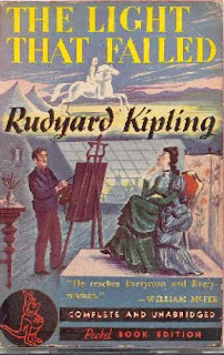 The Light that Failed (published in 1890) - Written by Rudyard