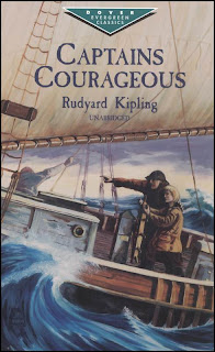 Captains Courageous (published in 1897) - Written by Rudyard Kipling