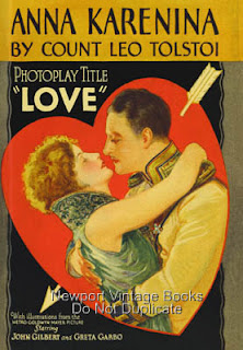 Love (released in 1927) - Starring Greta Garbo and John Gilbert
