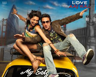 Love Aaj Kal - a different love story starring Saif Ali Khan and Deepika Padukone (released in 2009)
