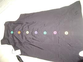 Vestido em tricoline preto (NOVO) 50,00