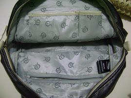 Dentro da bolsa!