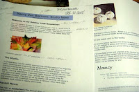 Nancy Van Blaricom - Newsletter