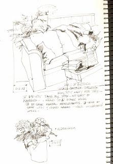 Contour sketch 2-5-09