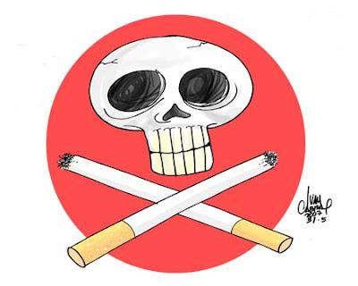 de fumar imbécil