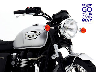 Triumph Bonneville Bike Wallpaper