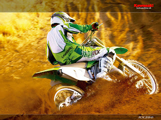 Kawasaki KX 250 Motocross Bike Wallpaper