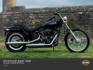 Harley-Davidson FXSTB Night Train 2C Softail Family 2C 2006 Wallpaper