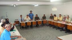 Reunião dos bacamarteiros de pernambuco com o Exército e Polícia Federal em Caruaru