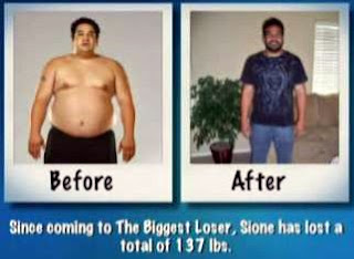 Sione Fa before and after pics