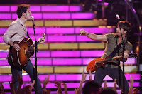 Kris Allen and Keith Urban
