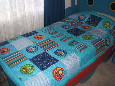 Single Bed Thomas The Tank Quilt