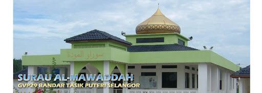 Surau Mawaddah Bandar Tasik Puteri