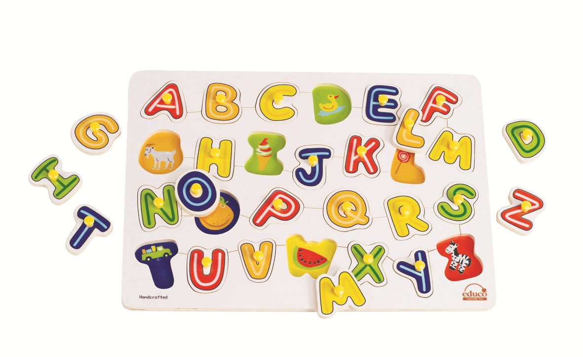 Now I learn my ABC\'s puzzle