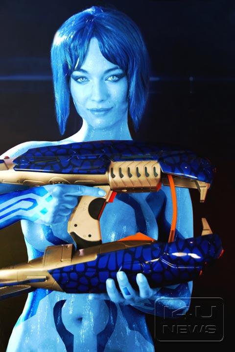 halo 4 cosplay Cortana