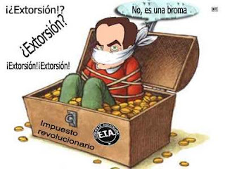 No aceptamos extorsion,ni chantajes