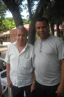 Junto a Leo Grisanty, Manzanillero historico