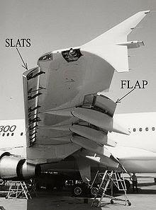 Slats and Flap