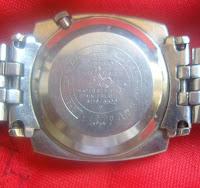 SEIKO 6119 - 8520 seri seb. dalam