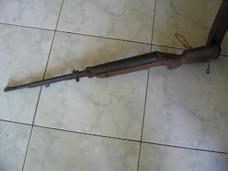 aksesoris onthel senapan kuno