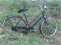 Sepeda onthel Humber Jengki