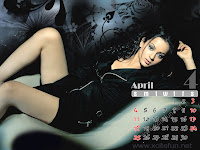 kangana ranaut calendar april wallpaper