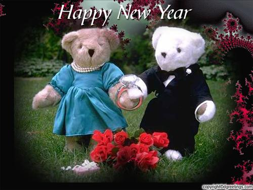 teddy bear wallpapers. New Year Teddy Bear Wallpapers