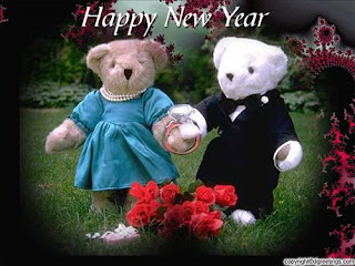 New Year Teddy Bear Wallpapers