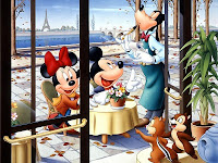 Disney new year 2009 wallpapers