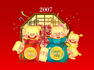 Chinese New Year With Cartoons