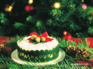 beautiful cake for new year