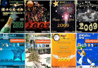 New Year Mobile Phone Themes