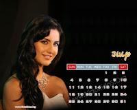 Katrina Kaif 2010 July Calendar