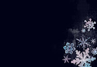 New Year Snowflake Wallpaper