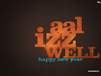 2010 New Years Slogan Wallpapers