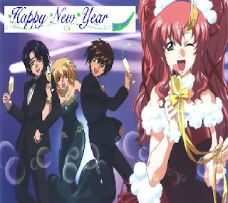 Anime Cartoon New Year Pictures