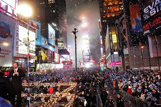 new york city times square new year