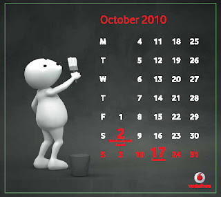 ZooZoo Calendar October 2010