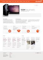new color theme ubuntu web site