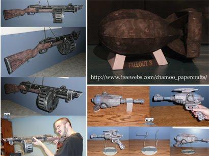 Papercraft World: Fallout 3 Papercrafts | Paper Models | Free ...