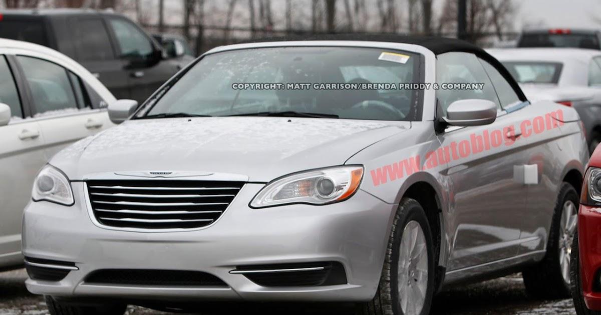 Cars Journal: 2011 Chrysler 200 Convertible Spy Photos