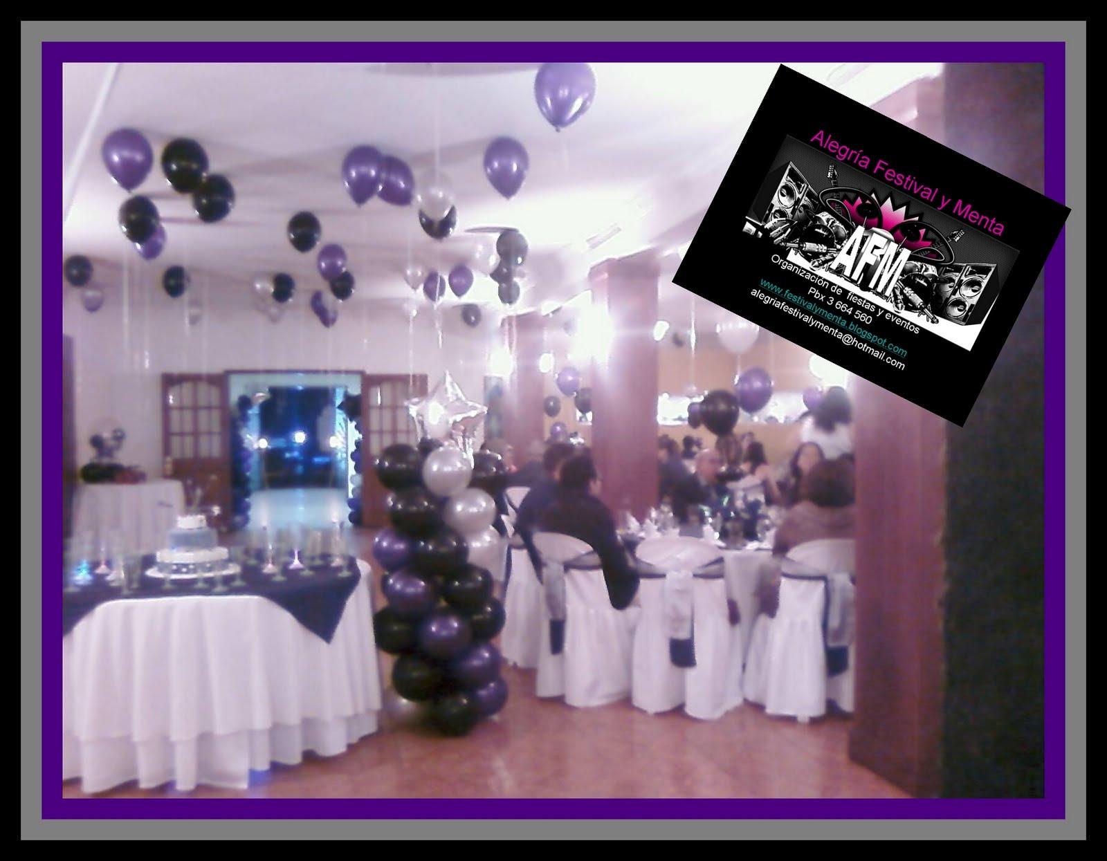Decoracion de salones para fiestas de 15 aos eventos for Decoracion salones